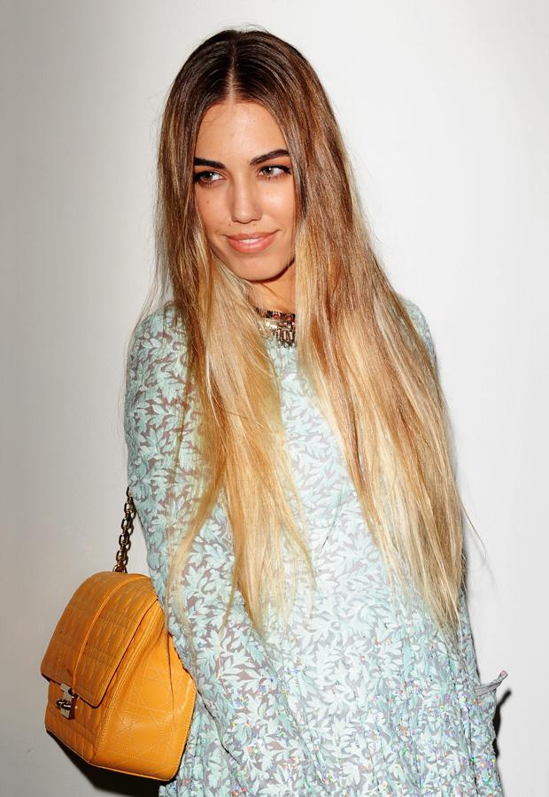 Amber Le Bon's Hair