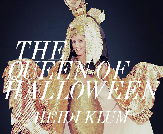Heidi Klum Queen of Halloween
