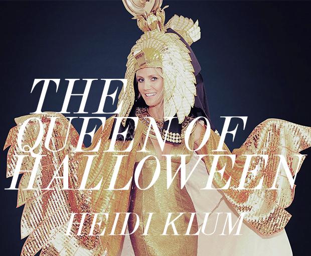 Heidi Klum Queen of Halloween