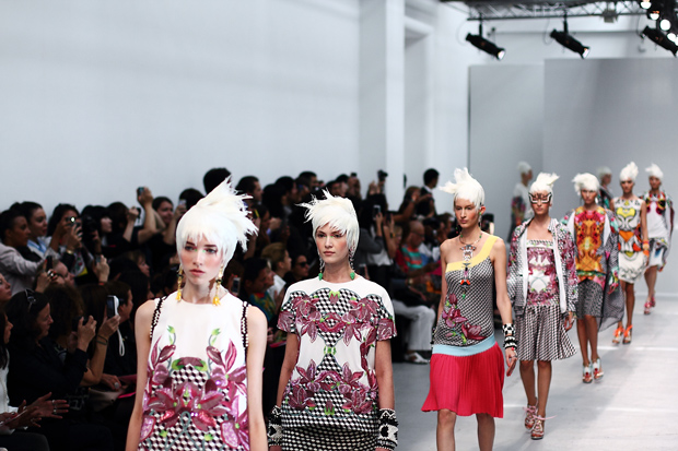 ss14 hair trends from Paris Fashion Week