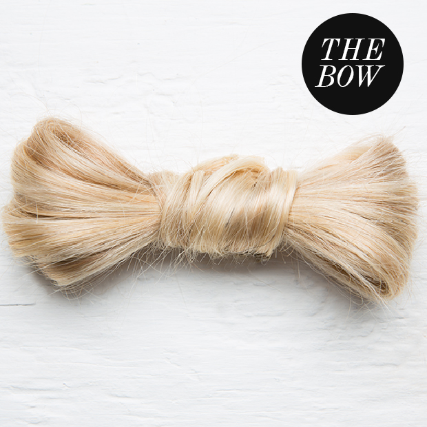 hair bow with hair extensions