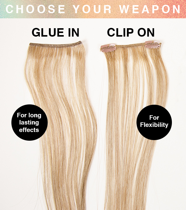 How To Use Highlight And Blusher Hair Extensions Hair Extensions