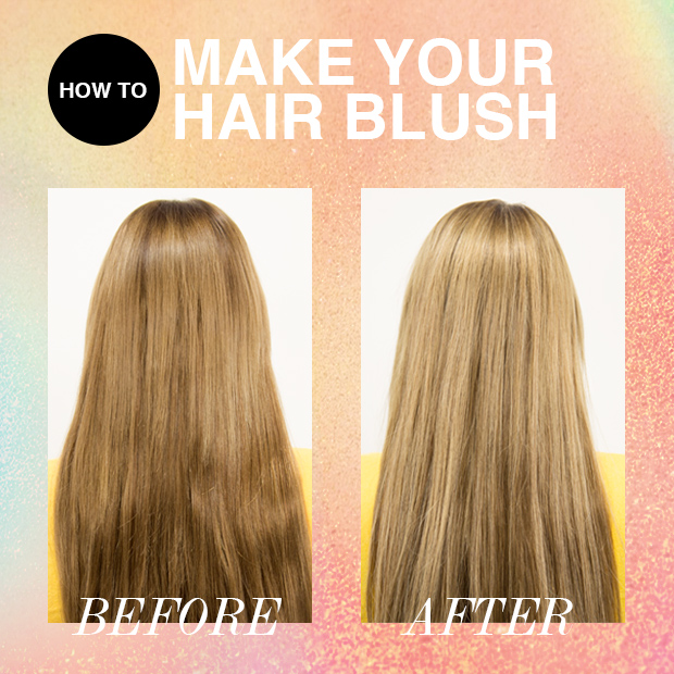 highlights with hair extensions