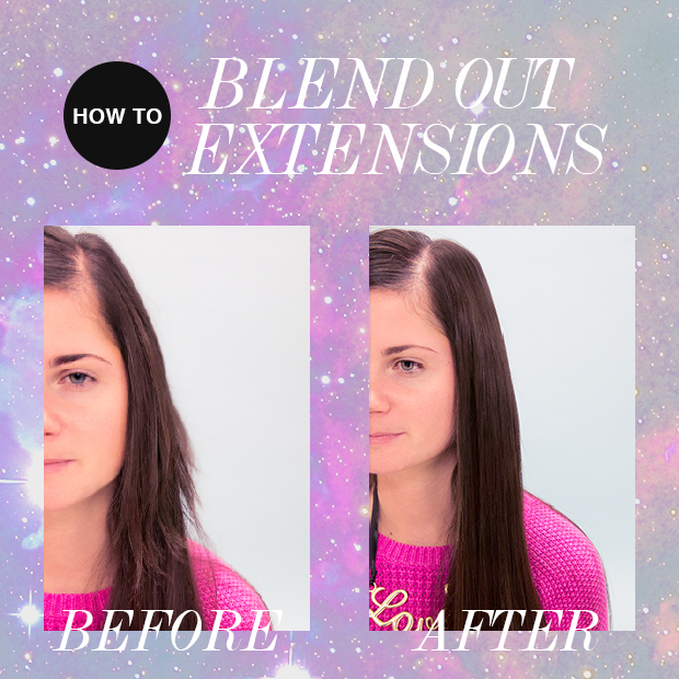 how-to-blend-out-hair-extensions-layers