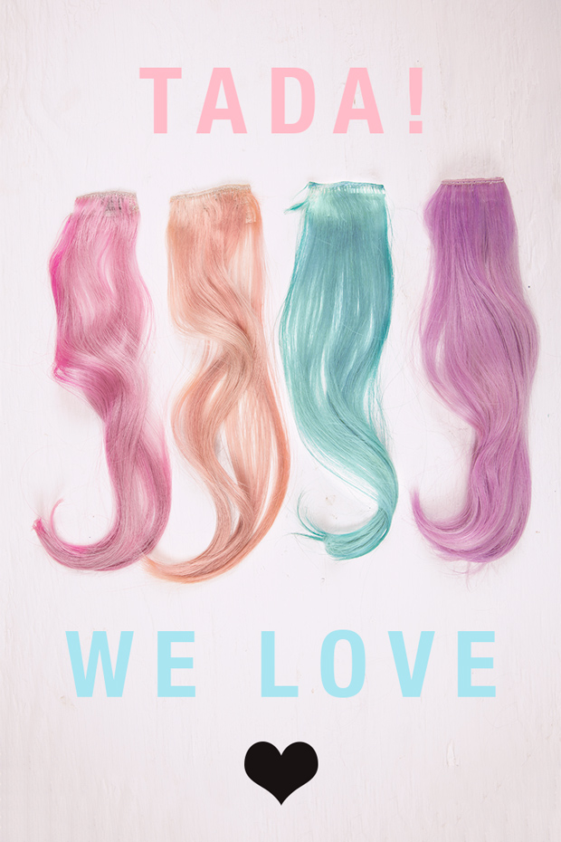 How To Make Pastel Colours On Hair Extensions With Renbow