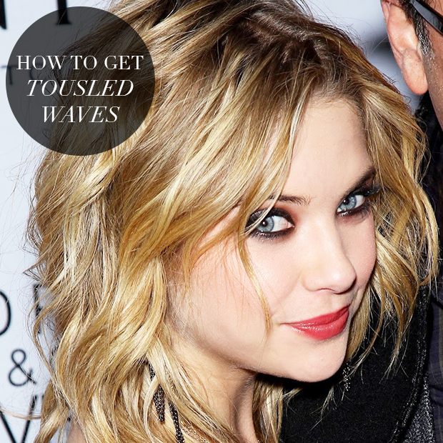 How To Get Tousled Waves Hair Extensions Blog Hair Tutorials