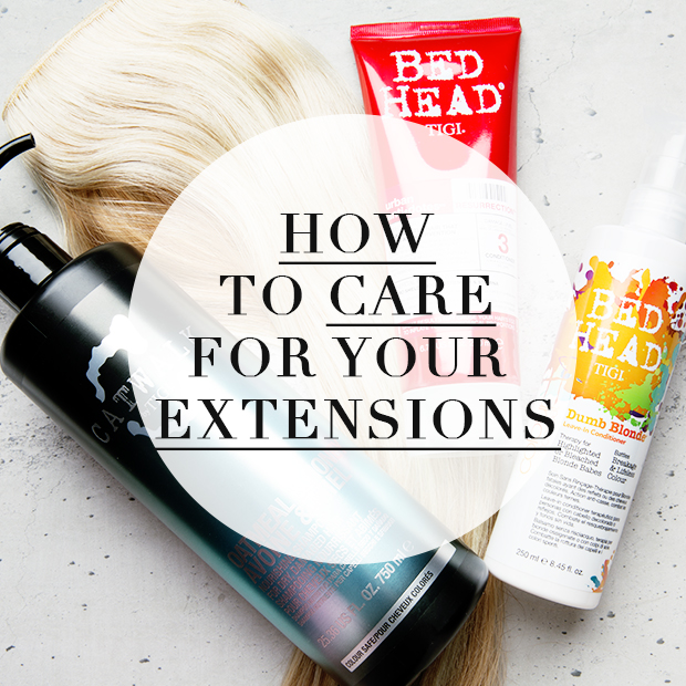 How To Care For Your Clip In Hair Extensions Hair Extensions Blog