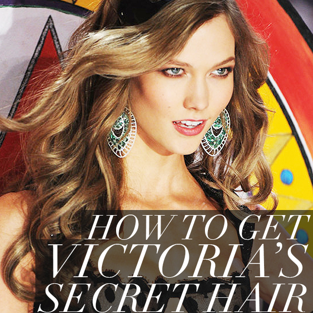 How to Get Victoria's Secret Hair