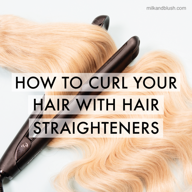 How To Curl Your Hair With Straighteners Hair Extensions Blog