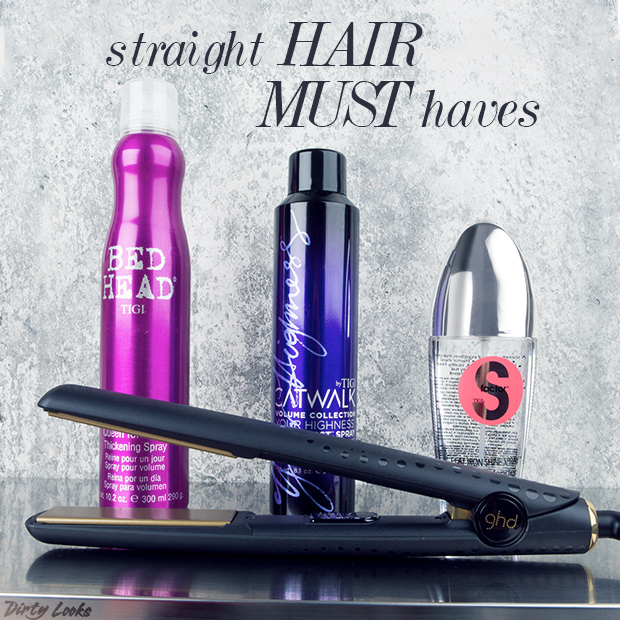Products for Sleek, Straight Hair