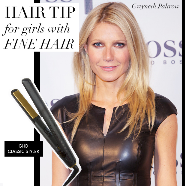 Hair tip for girls with fine hair