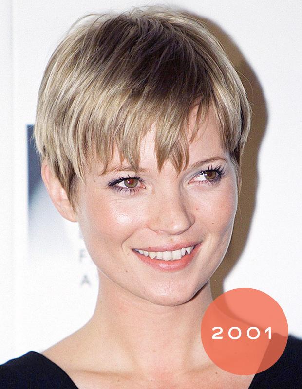 Kate moss wavy hair