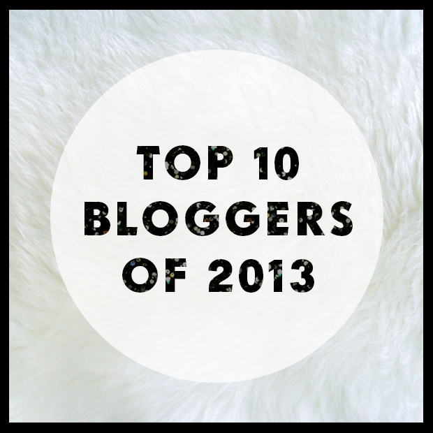 Top 10 Bloggers of 2013