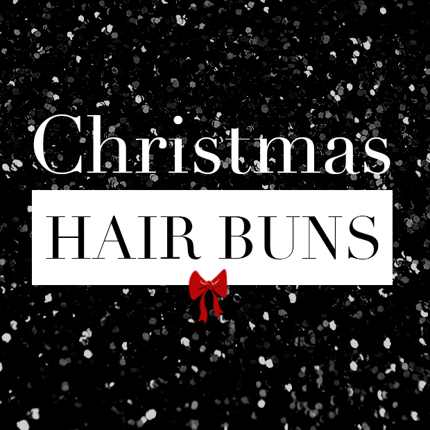 Christmas Hair Buns