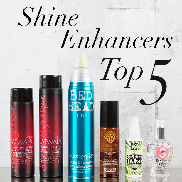 Top 5 Shine Enhancers to get your hair glowing this Christmas