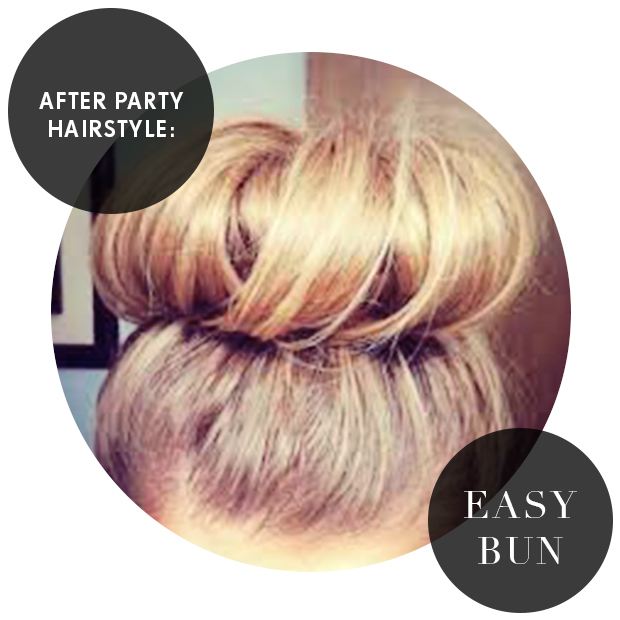 After Party Hairstyle- The Easy Bun | Hair Extensions Blog | Hair ...