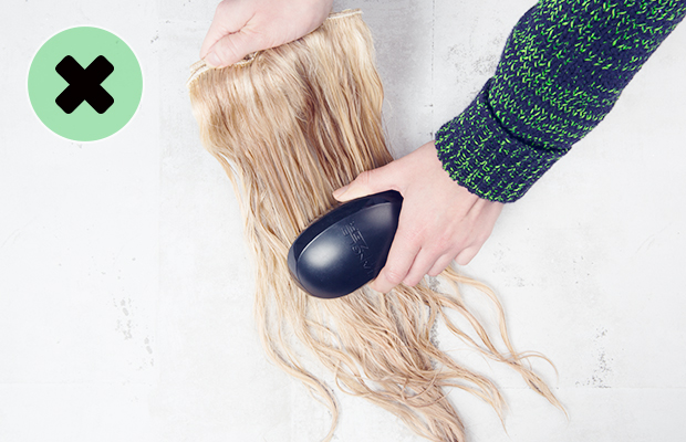 What not to do with hair extensions hair extensions blog hair what not to do with hair extensions pmusecretfo Image collections