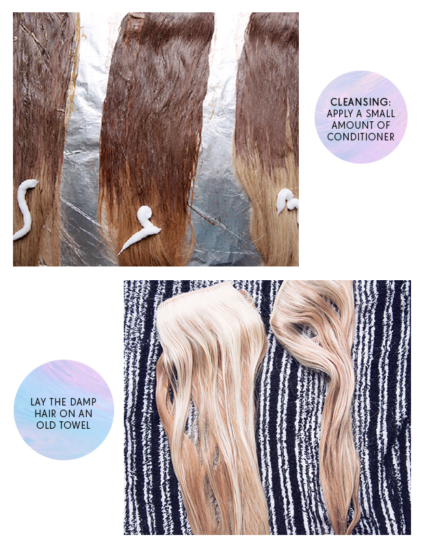 How To Look After Ombre Hair Extensions Hair Extensions Blog