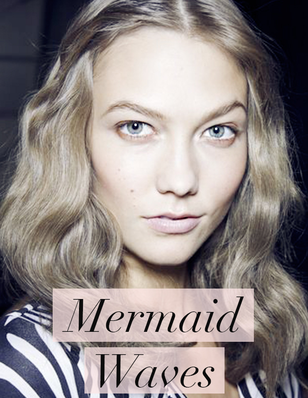 Mermaid Waves- Hair Trends for 2014