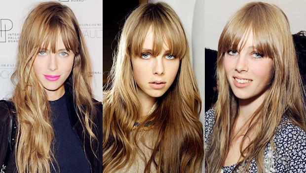 Edie Campbell's Hair