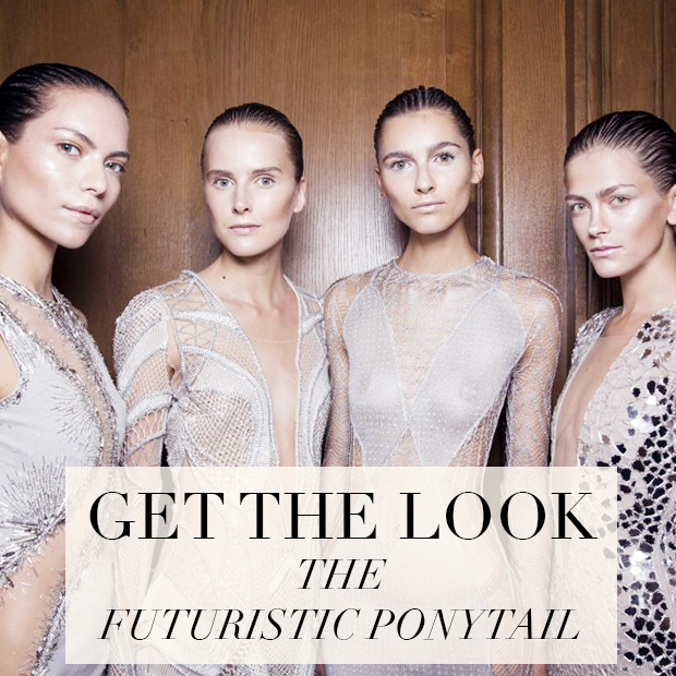 Get the Look: The Futuristic Ponytail