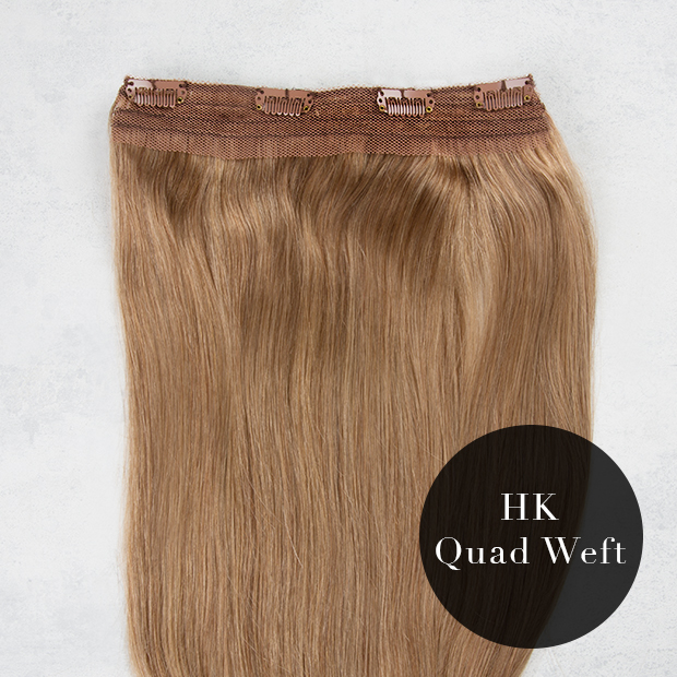 Quadruple Thickness Clip In Hair Extensions 45
