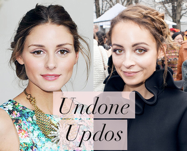 Undone Updos- Hair Trends for 2014