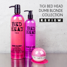 Tigi Bed Head Dumb Blonde Collection