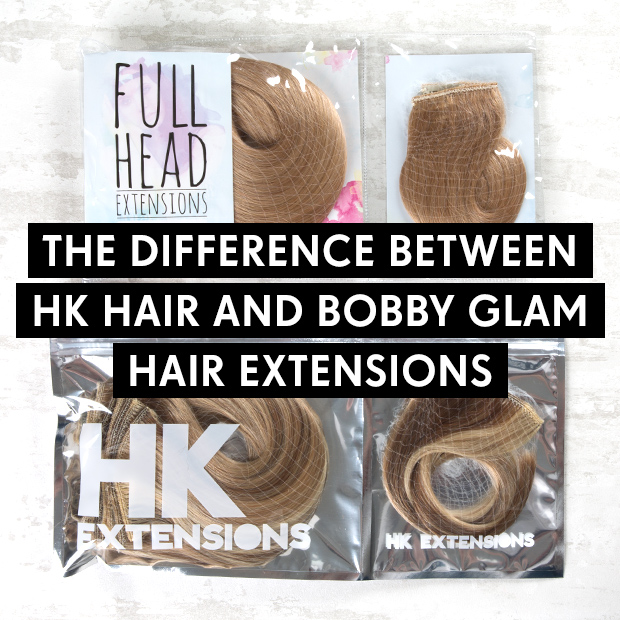The Difference Between Hk Hair And Bobby Glam Hair Extensions Hair