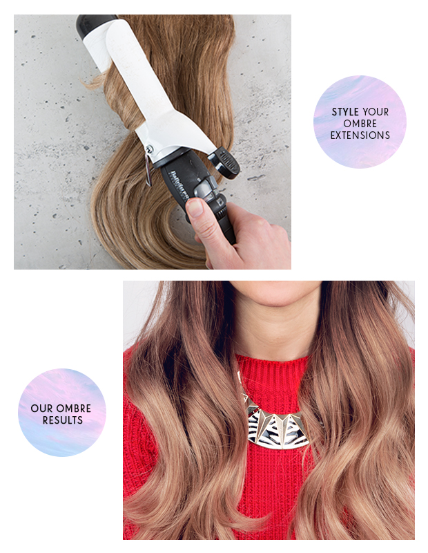 How to look after ombre hair extensions hair extensions blog hair tutorials hair care news - Ombre hair carre ...