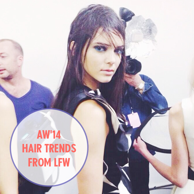 AW'14 Hair trends from LFW