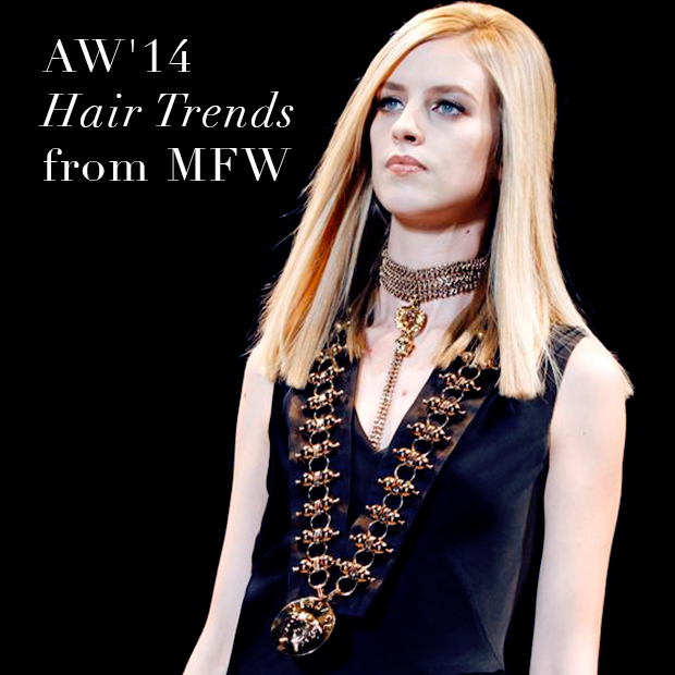 AW'14 Hair trends from MFW