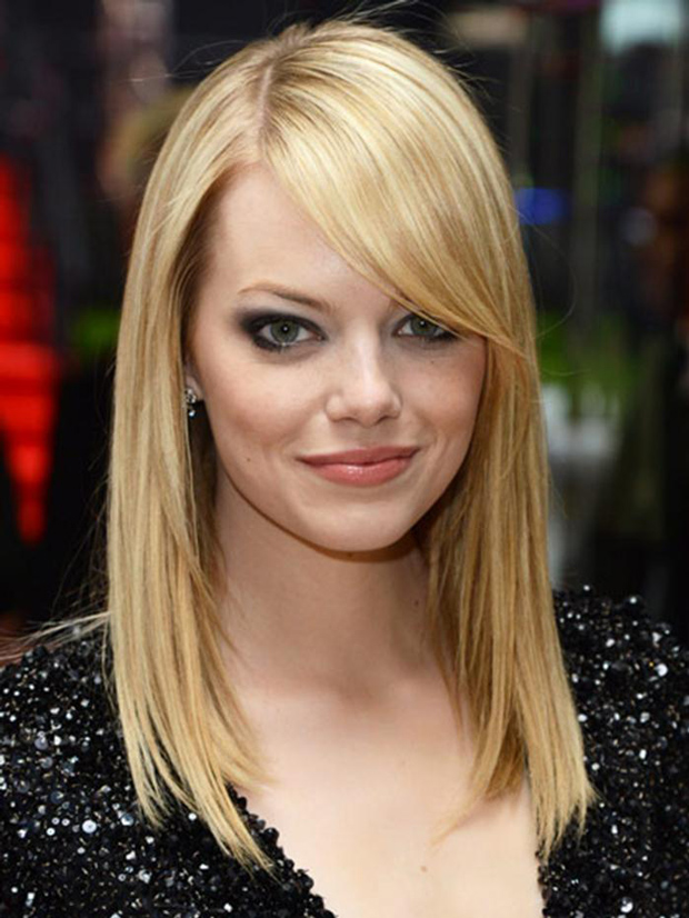Fantastic The Medium Length Haircuts With Bangs Can Be Divided Into Three