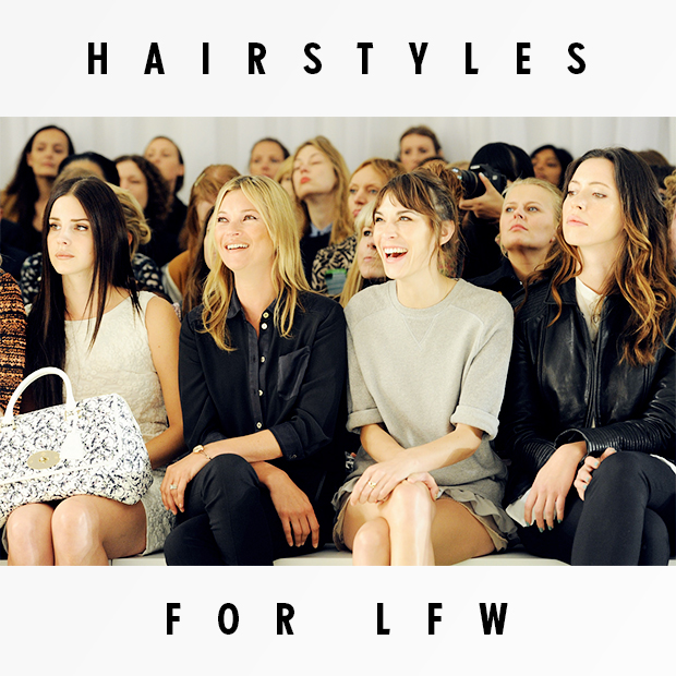 Hairstyles for LFW