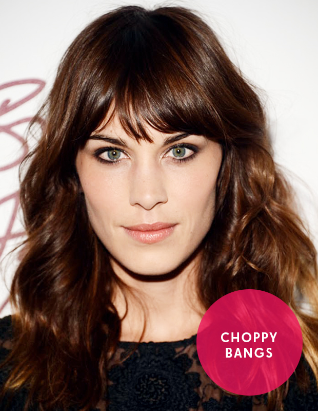 Choppy Bob Hairstyles with Bangs for Oval Faces