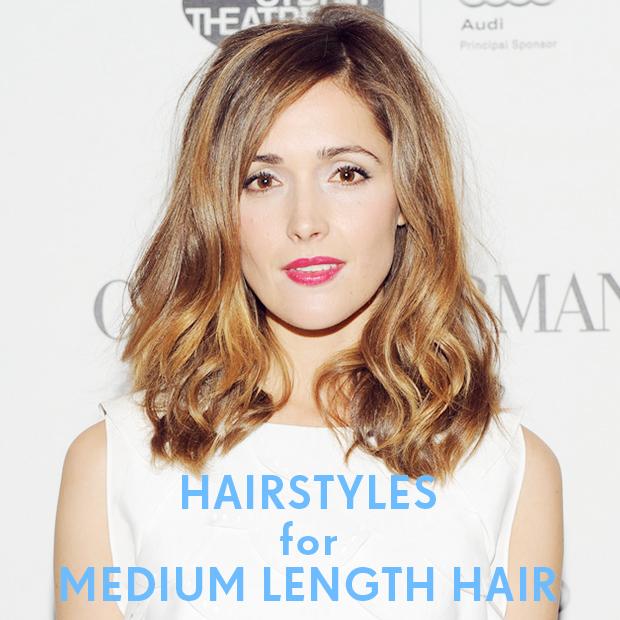 Hairstyles For Medium Length Hair Blog Milk Blush