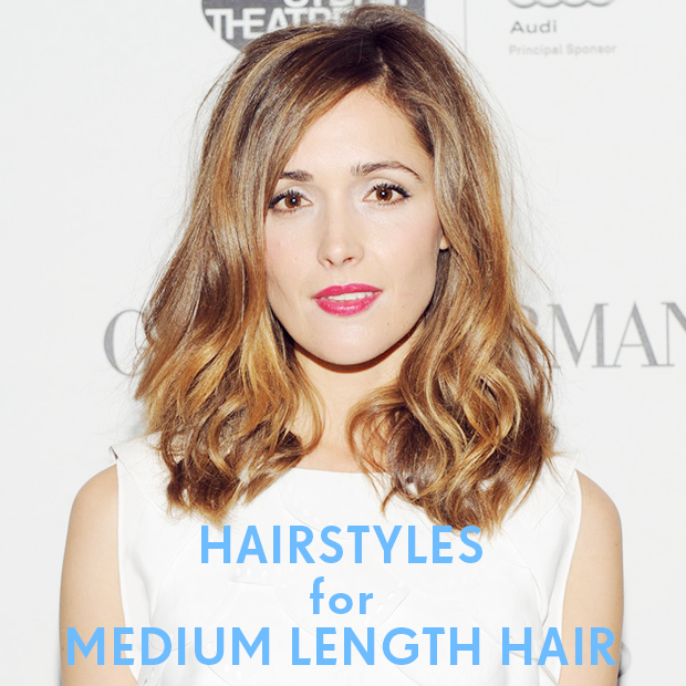 Surprising Hairstyles For Medium Length Hair Hair Extensions Blog Hair Short Hairstyles Gunalazisus