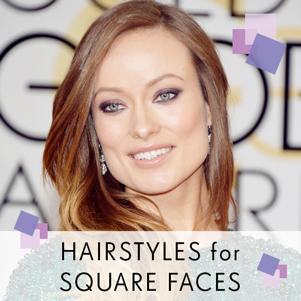Hairstyle For Square Face : Hairstyles for Square Faces / Hair Extensions Blog Hair Tutorials ...