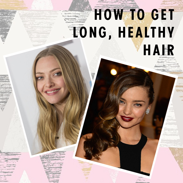 How to Get Long, Healthy Hair