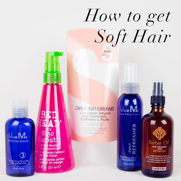 how to get soft hair