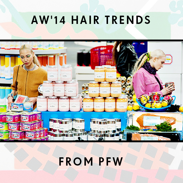 AW'14 Hair Trends from PFW