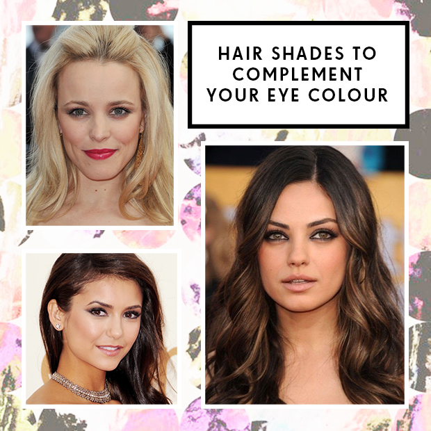 Hair Shades to Complement Your Eye Colour