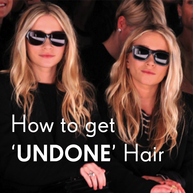 How to Get 'Undone' Hair