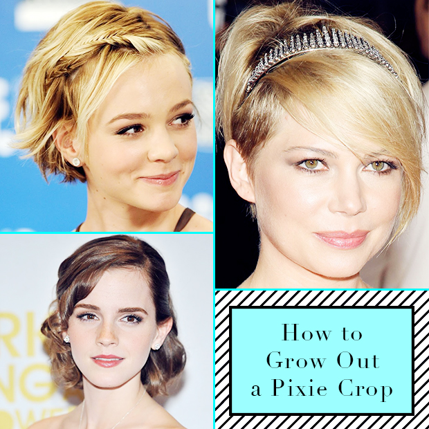 How To Grow Out A Pixie Crop / Hair Extensions Blog