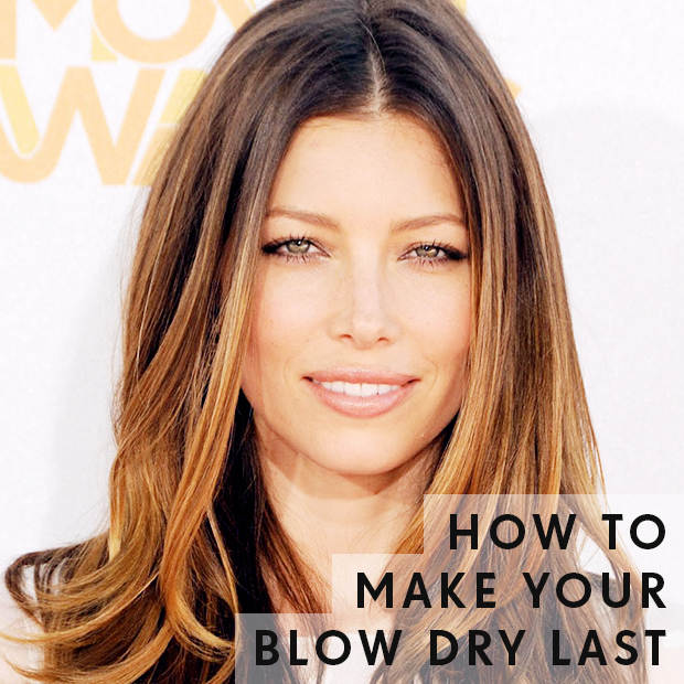 How to Make Your Blow Dry Last
