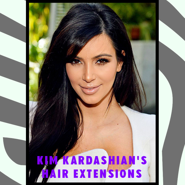 Kim Kardashians Hair Extensions Hair Extensions Blog Hair