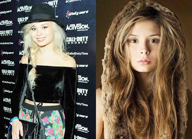 Nina Nesbitt's hair extensions