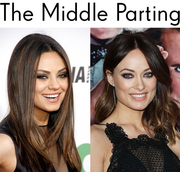 Wondrous How To Find The Perfect Parting Hair Extensions Blog Hair Short Hairstyles Gunalazisus