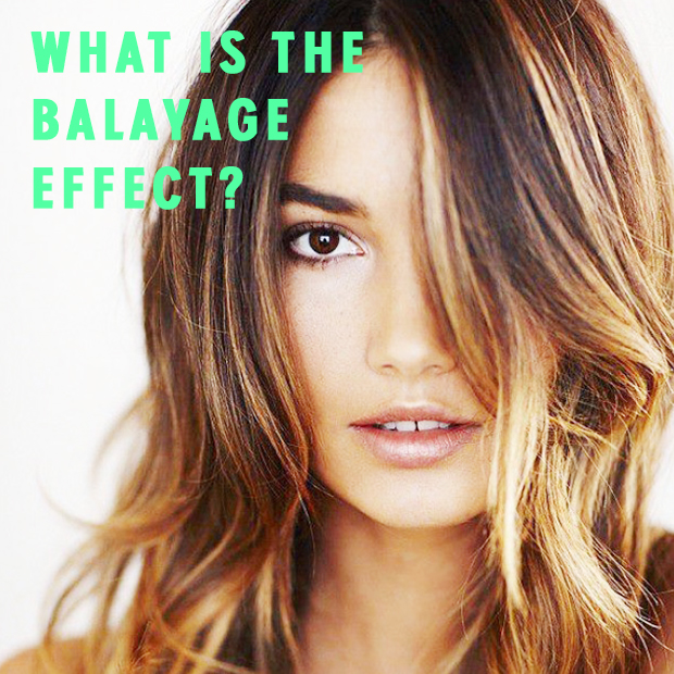 What is the balayage effect?