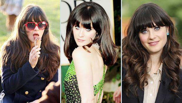 Zooey Deschanel Hair Extensions Hair Extensions Blog Hair